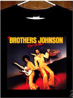 The Brothers Johnson T shirt; Brothers Johnson Right On Time T Shirt