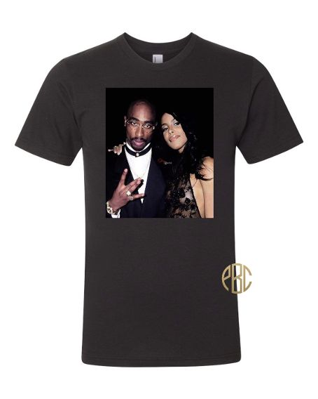 Tupac and Aaliyah Tee Shirt