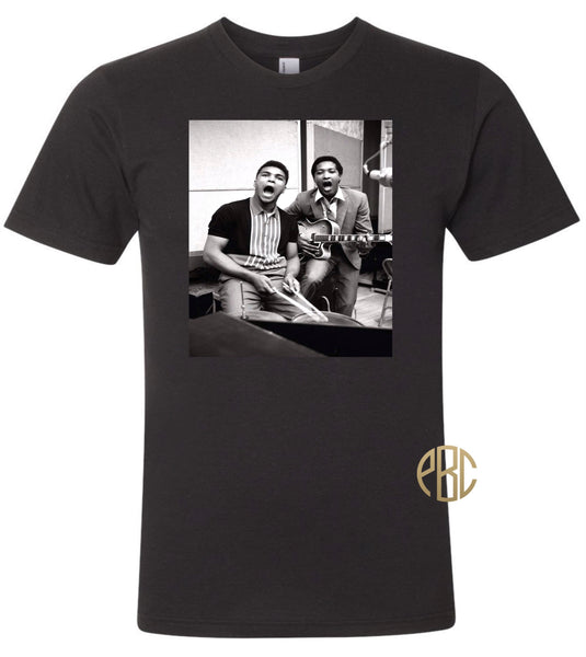 Sam Cooke T Shirt, Sam Cooke Muhammad Ali  T Shirt