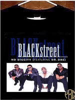 Blackstreet T Shirt, Blackstreet No Diggity Album Cover T Shirt
