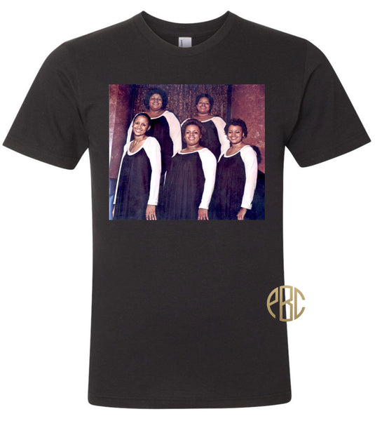The Clark Sisters T Shirt; Gospel Singers The Clark Sisters Tee Shirt