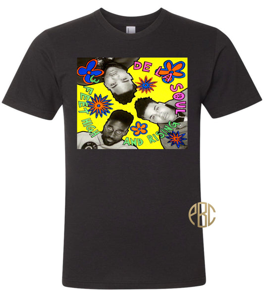 De La Soul T Shirt; De La Soul 3 Feet High And Rising Tee Shirt