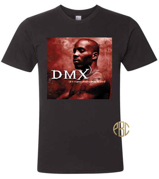 DMX T Shirt, DMX Its Dark and Hell Is Hot Album Cover T Shirt
