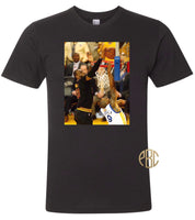 Lebron James T Shirt; Cleveland Cavaliers Champ Lebron James The Block Tee Shirt