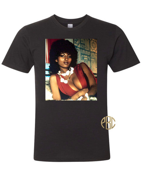 Pam Grier T Shirt, Pam Grier Foxy Brown T Shirt