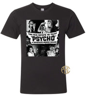 Psycho Movie Poster T Shirt