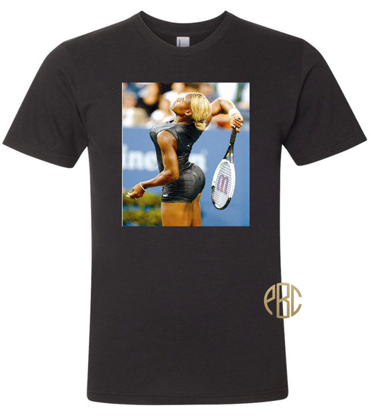 Serena Williams T shirt; Serena Williams Catsuit Tee Shirt
