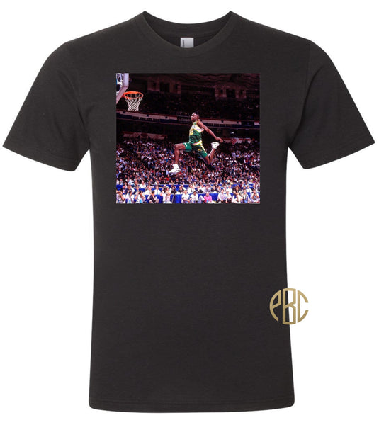 Shawn Kemp T Shirt; Shawn Kemp Tee Shirt
