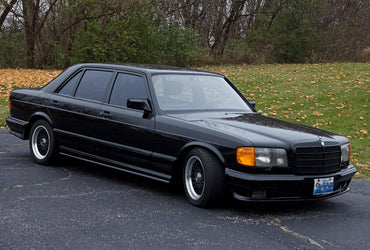A 33-year-old Brabus Mercedes 1000SEL goes on sale