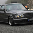 W126 SE SEL AMG Bodykit With full bumper