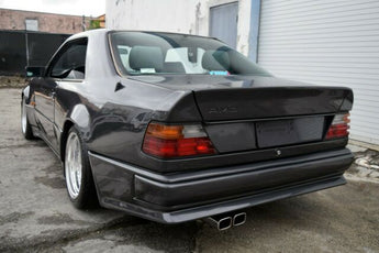 W124 AMG Hammer Widebody kit with metal fenders