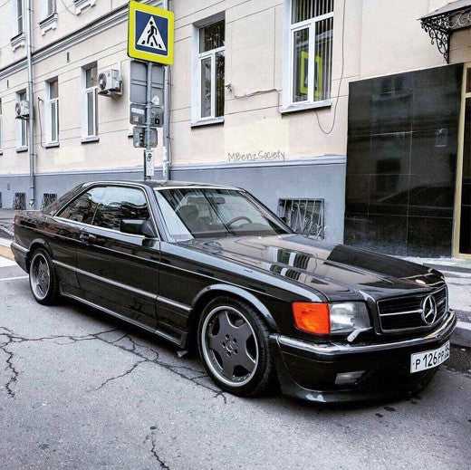 W126 SEC SE SEL AMG Bodykit (GEN 1 AND GEN 2)