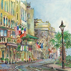 River Street West Painting by Sharon Saseen