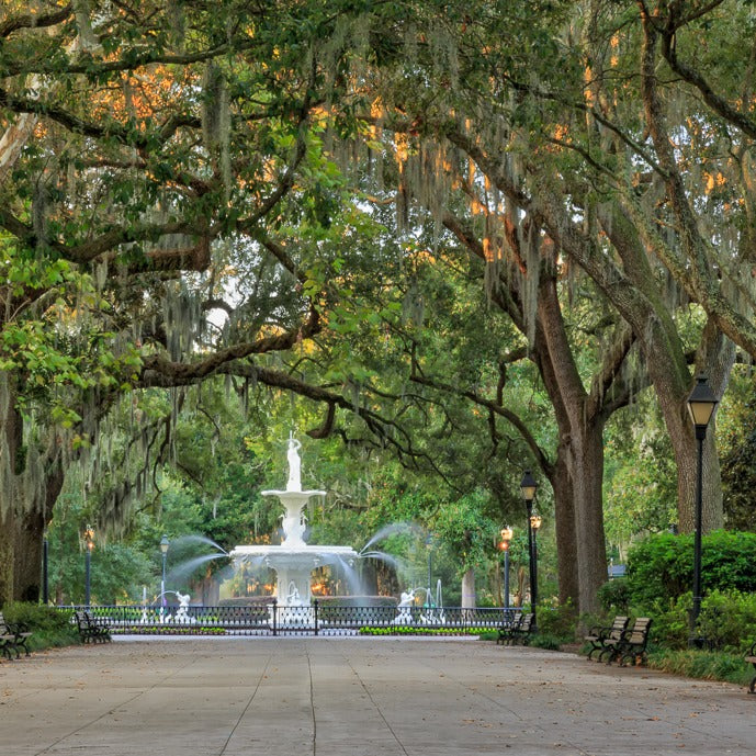 Forsyth Fountain photography by Jim Guerard