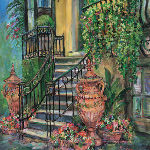 Ballaston Inn painting by Sharon Saseen