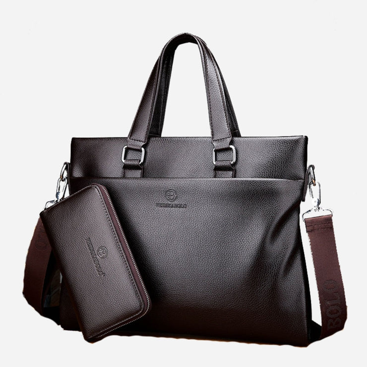 Annick Leather business Bag