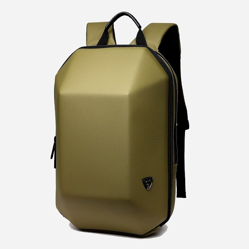 yellow business backpack