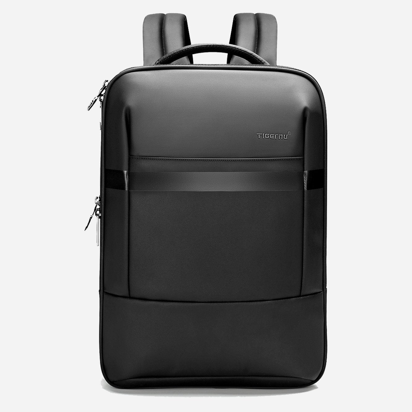 Black business travel backpack