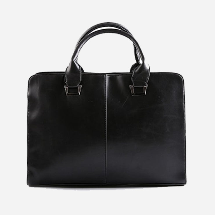 Jacques Leather business Handbag