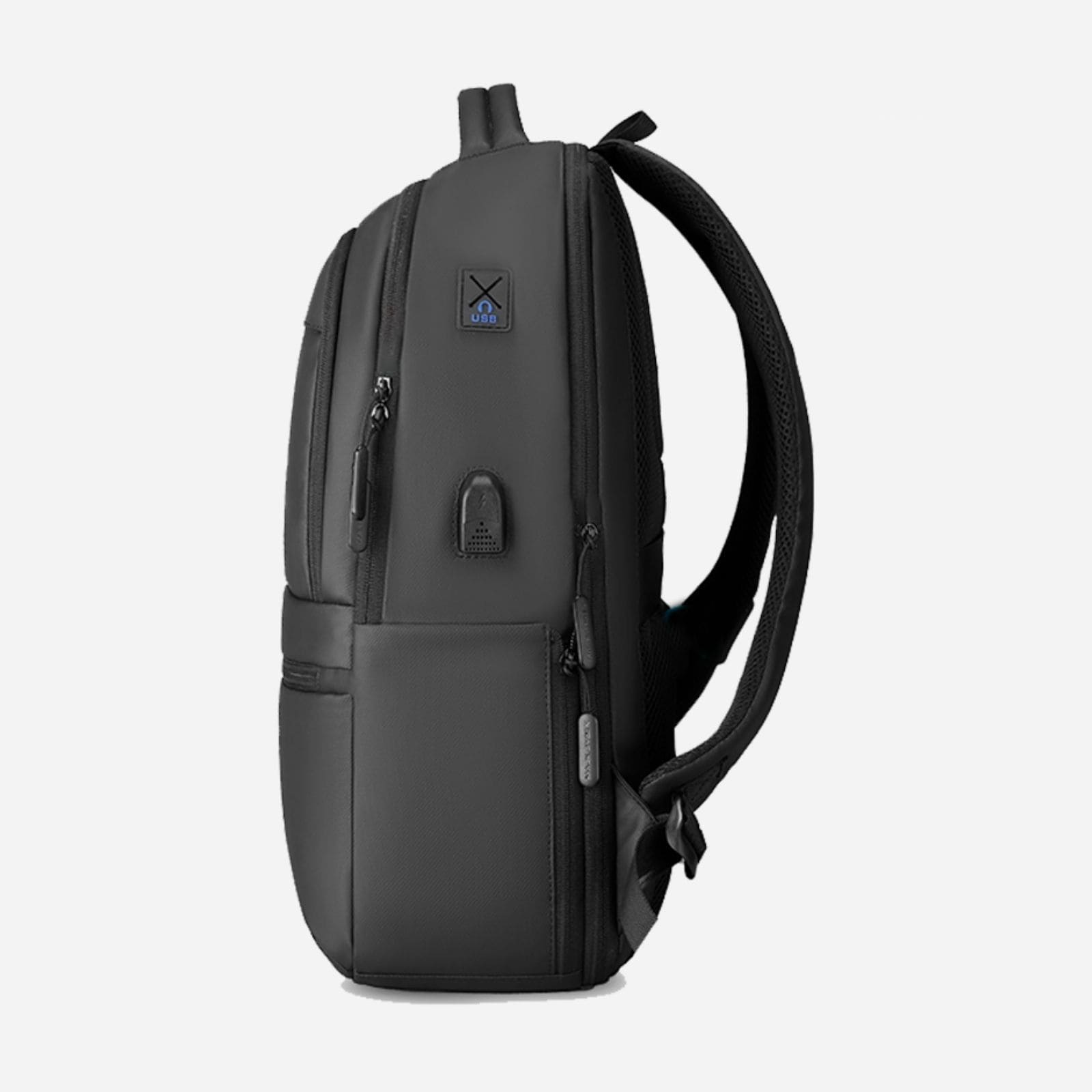 echo black business travel backpack