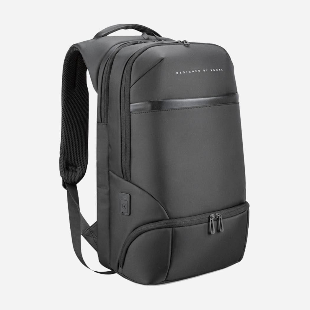 Francis black backpack for businessmen