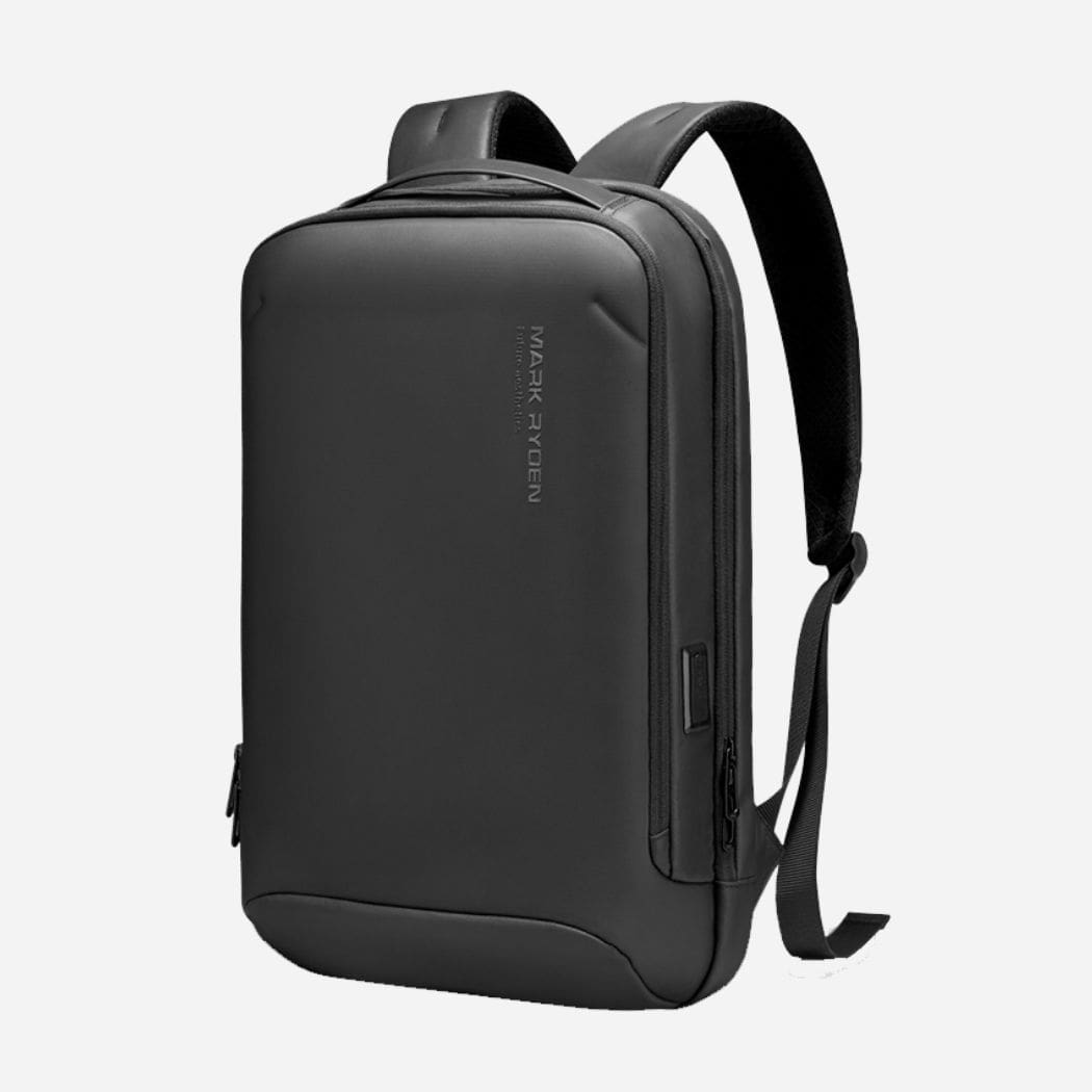 Poseidon black travel backpack