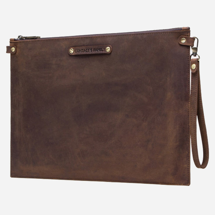 Surface Leather Sleeve Bag