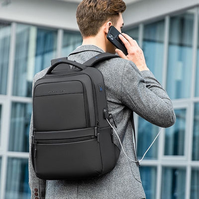 Echo businessmen travel black backpack