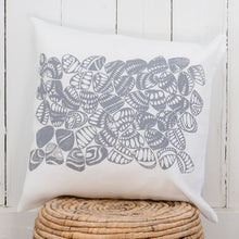 Load image into Gallery viewer, Eugaries - Handprinted Linen Cushion Cover
