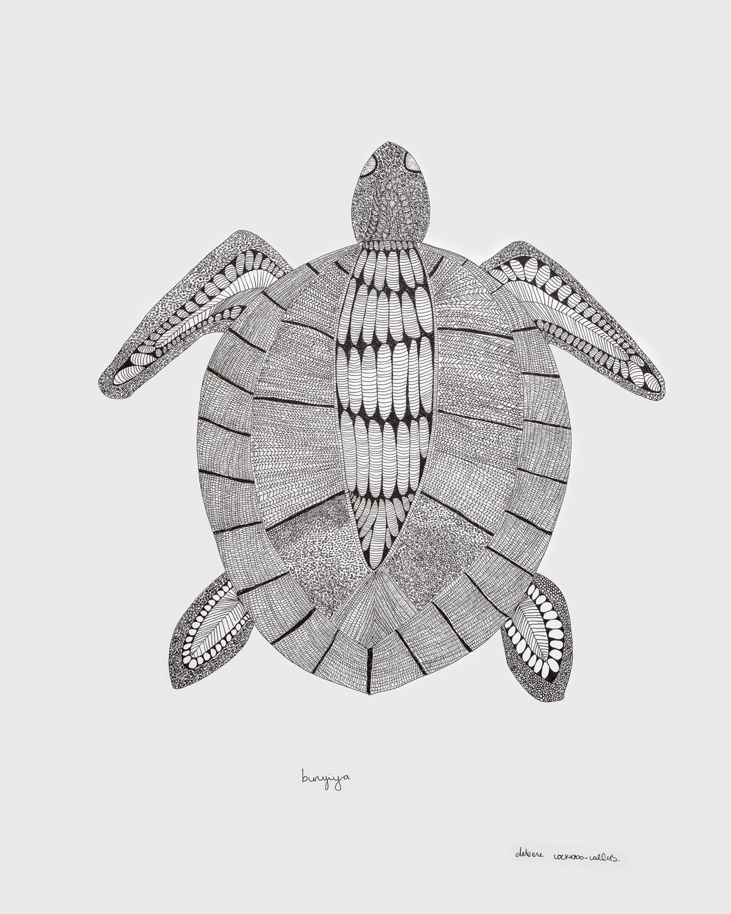 Bunbiya (Turtle) - Original Artwork