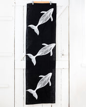 Load image into Gallery viewer, Migalu Yalingbilla (White Humpback) - Handprinted Table Runner