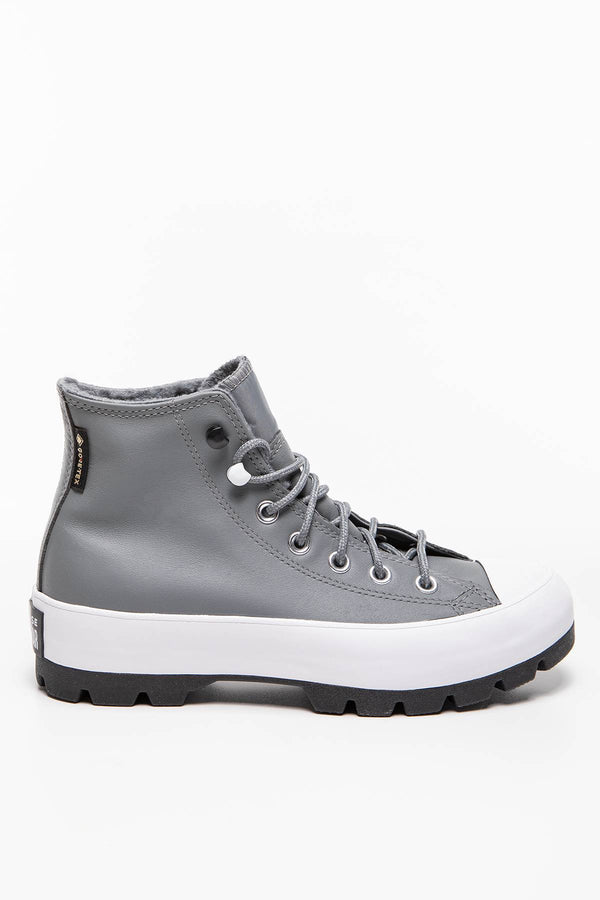 #00180  Converse obuv, členkové čižmy CTAS LUGGED WINTER HI 555 LIMESTONE GREY/BLACK/WHITE