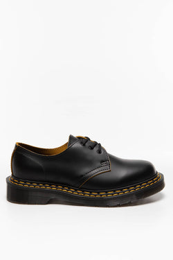 #00004  Dr.Martens obuv 1461 DS Smooth Slice BLACK/YELLOW