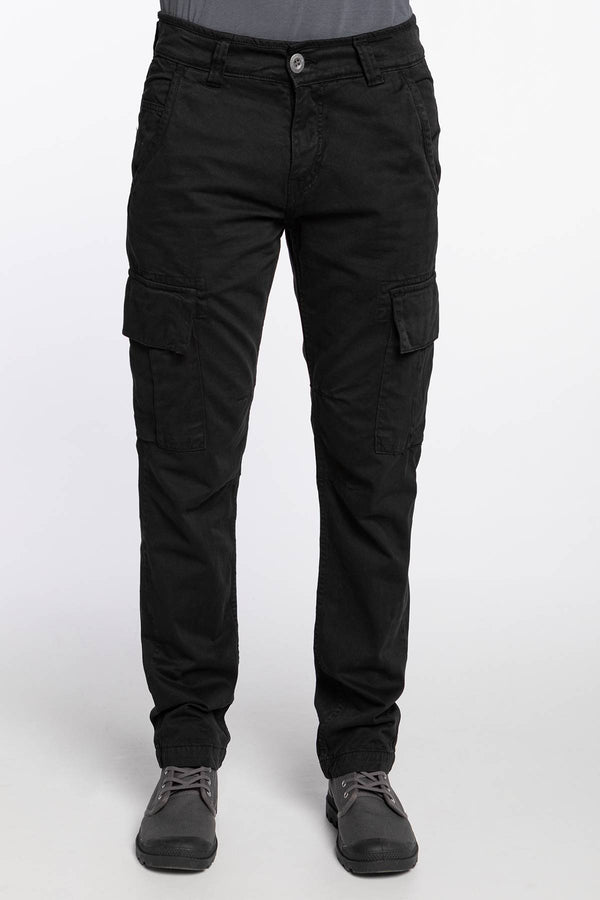 #00102  Alpha Industries oblečenie, nohavice Agent 205 BLACK