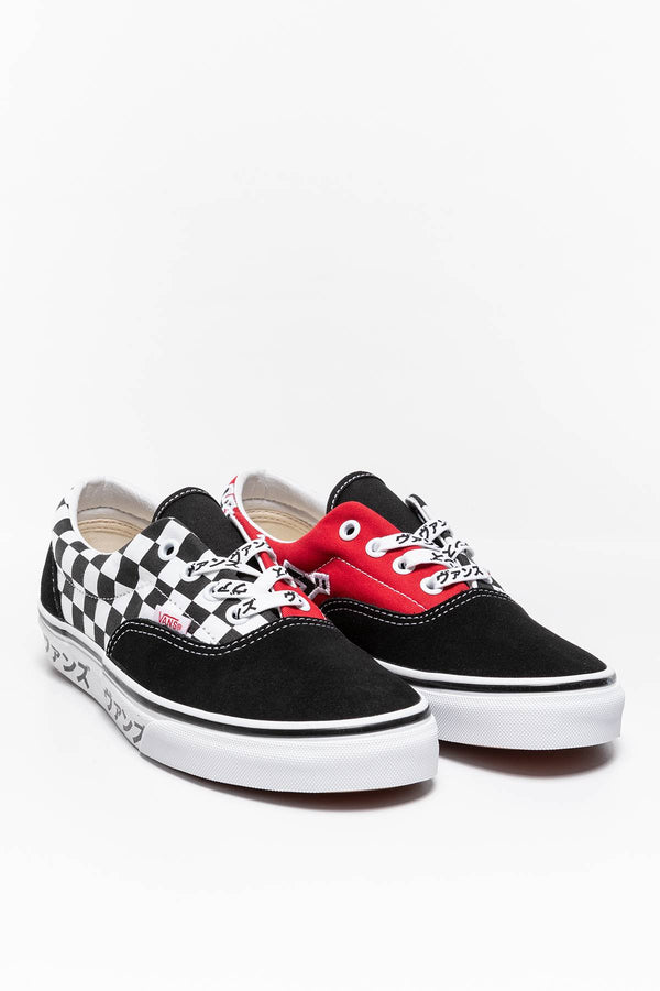#00007  Vans obuv, tenisky UA JAPANESE TYPE Era VN0A4BV42241 BLACK/RACING RED/WHITE