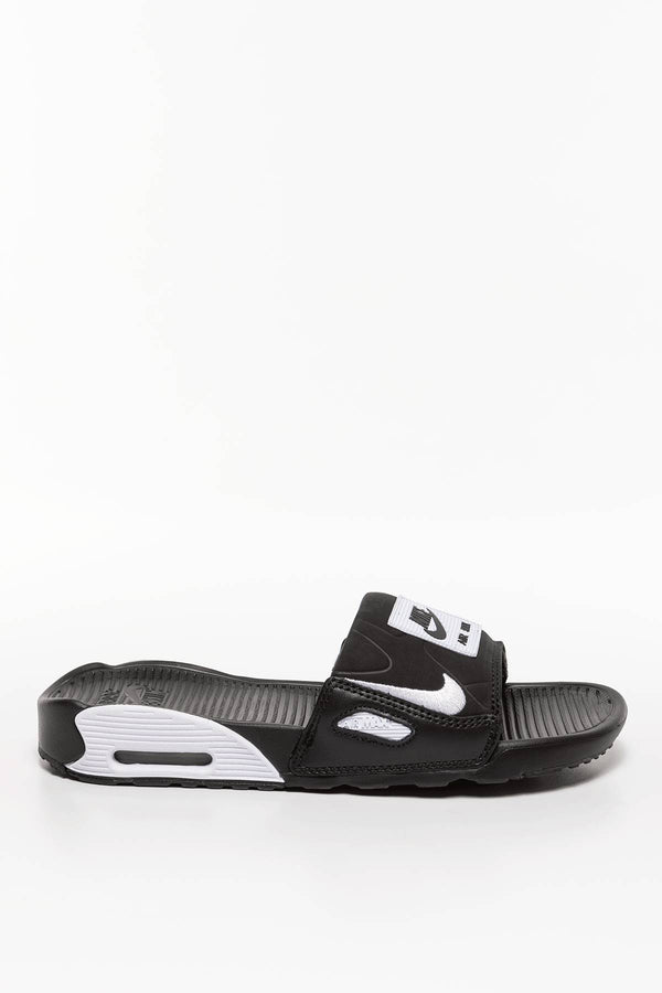 #00059  Nike obuv, šľapky WMNS Air Max 90 SLIDE CT5241-002 BLACK/WHITE