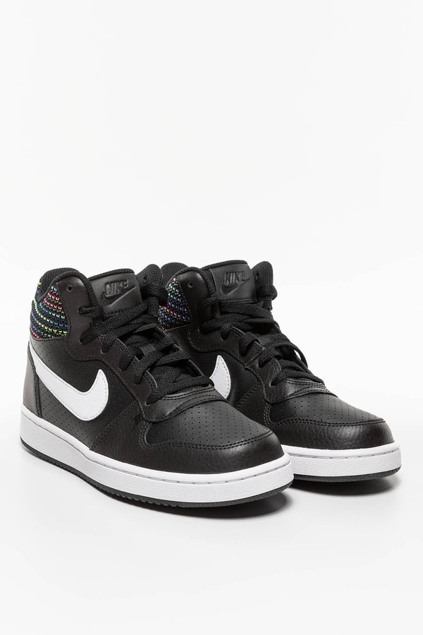 #00068  Nike obuv, sneakersy COURT BOROUGH MID SE GS 005 BLACK