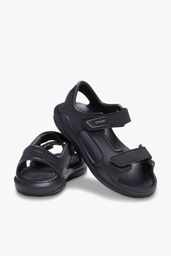 #00033  Crocs obuv SANDAŁY Swiftwater Expedition Sandal K Black/Slate Grey BLACK