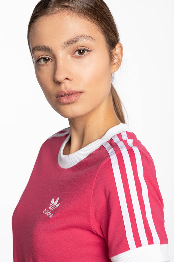 #00033  adidas tričko 3 STR Tee 440 RED