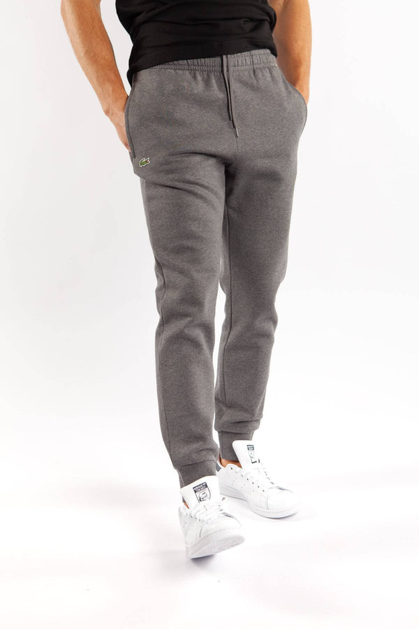 #00029  Lacoste oblečenie, nohavice TRACKSUIT TROUSERS 050 GREY CHINE