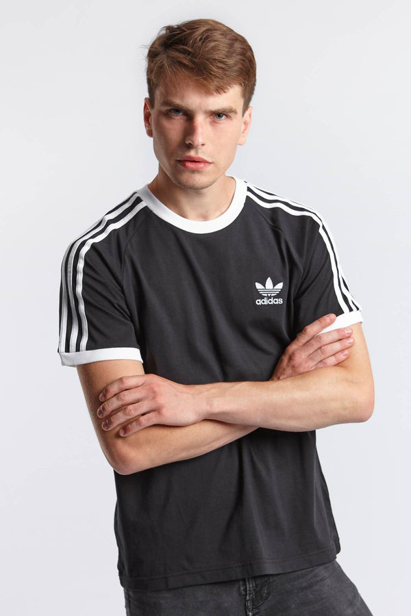 #00099  adidas tričko 3-STRIPES TEE 202 BLACK