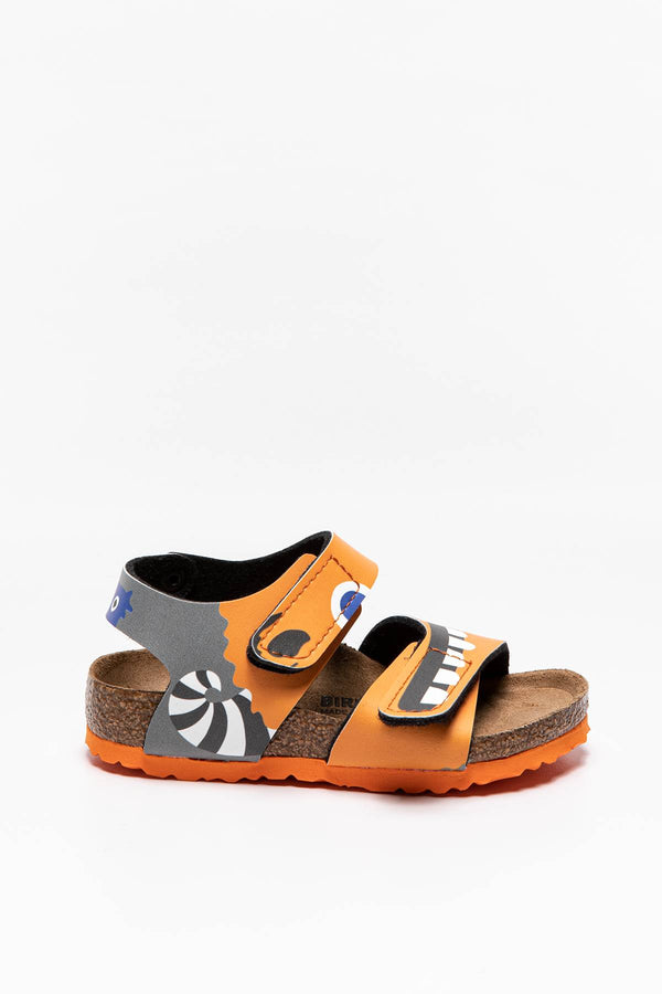 #00000  Birkenstock obuv SANDAŁY DZIECIĘCE Palu Kids BFDD Monster Orange 1019095 MONSTER ORANGE