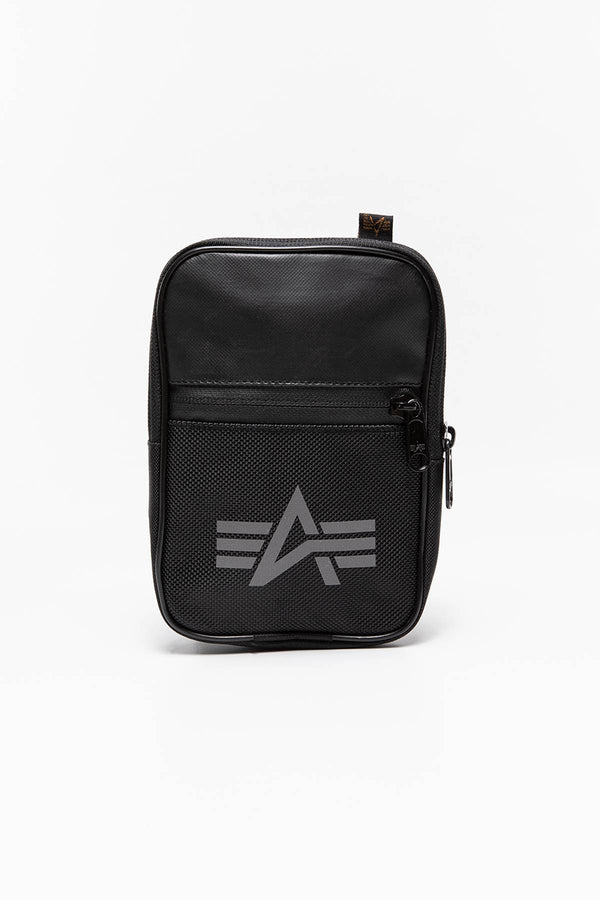 #00000  Alpha Industries taštička TORBA/SASZETKA Utility Bag Reflective 188911-03 BLACK