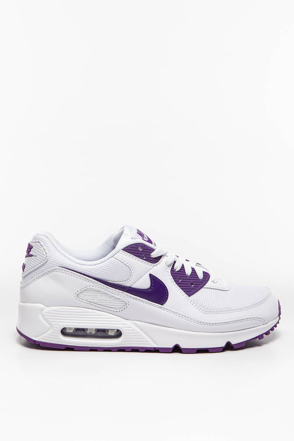 #00001  Nike obuv, sneakersy Air Max 90 CT1028-100 WHITE/VOLTAGE PURPLE-BLACK