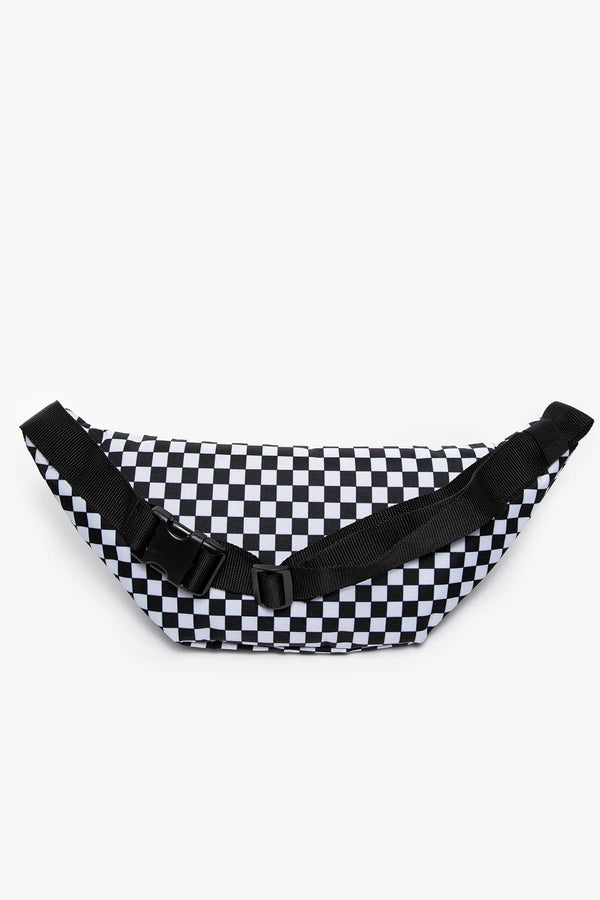 #00030  Vans taštička SASZETKA MN WARD CROSS BODY P Black/White Che VN0A2ZXXHU01 BLACK