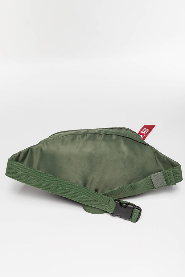 #00011  Alpha Industries taštička Crew Waist Bag 923 DARK GREEN