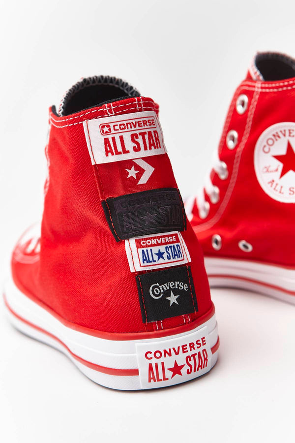 #00151  Converse obuv, tenisky CHUCK TAYLOR ALL STAR HI 173 UNIVERSITY RED/WHITE