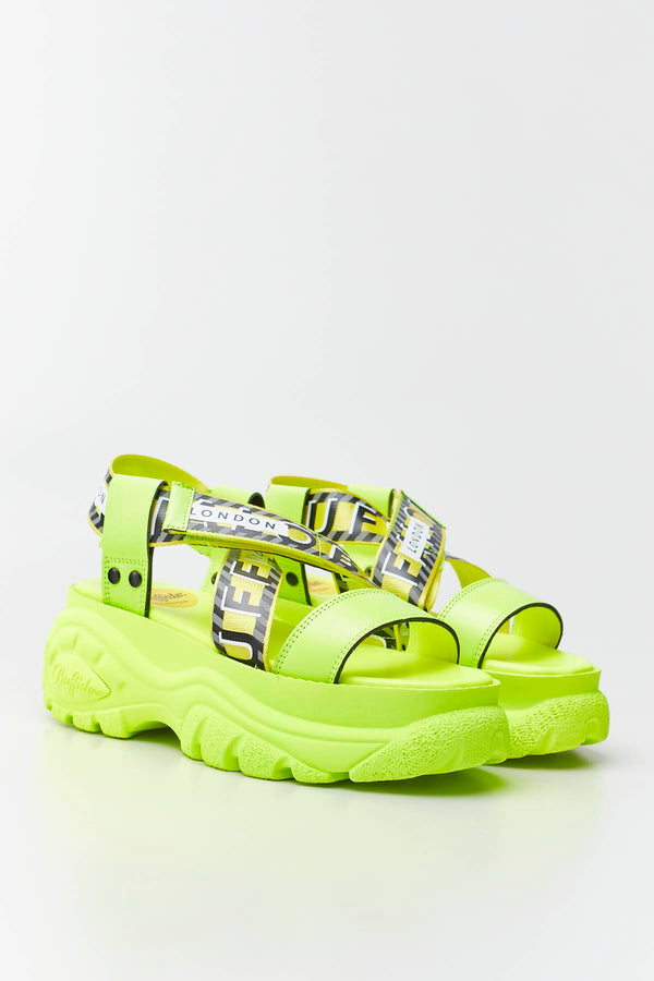 #00007  Buffalo obuv BO 039 NEON YELLOW