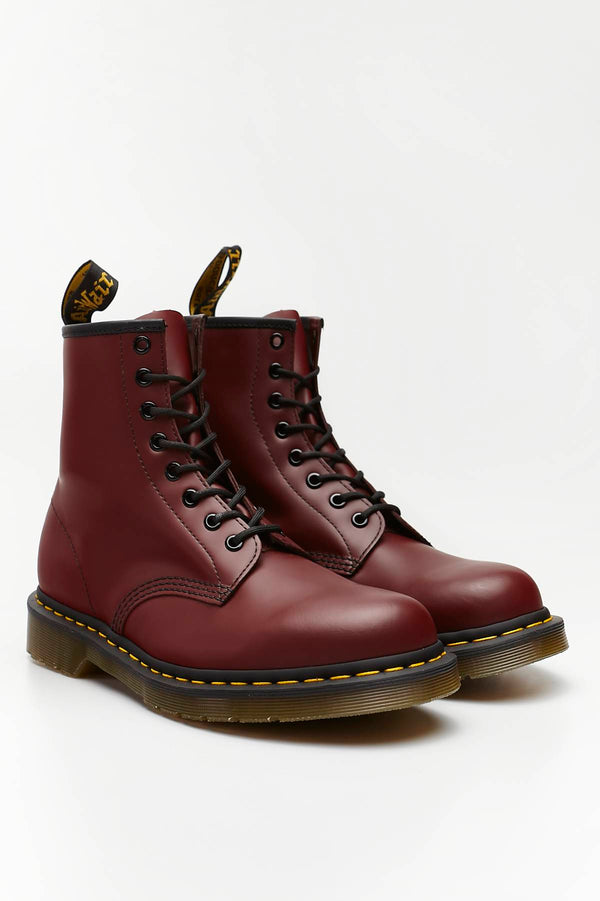 #00003  Dr.Martens obuv, členkové čižmy 1460 SMOOTH CHERRY RED CHERRY RED SMOOTH