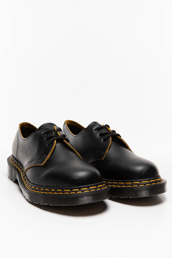 #00010  Dr.Martens obuv 1461 DS Smooth Slice BLACK/YELLOW BLACK/YELLOW